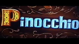 Pinocchio 1999 60th Anniversary Edition VHS Opening