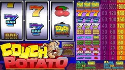 COUCH POTATO +WINNING COMBINATIONS! online free slot SLOTSCOCKTAIL microgaming