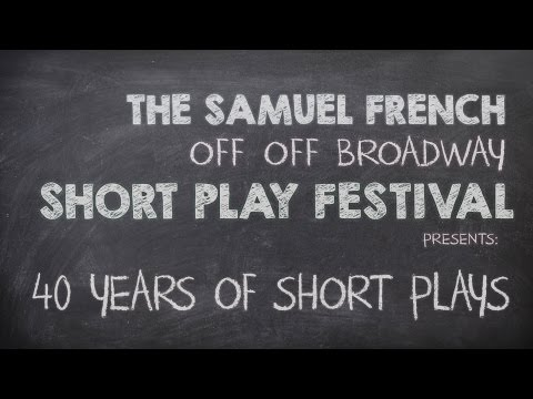 2015 Samuel French OOB Festival: 40 Years of Short Plays
