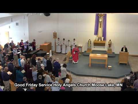 Good Friday Holy Angels Church Moose Lake, MN 2018