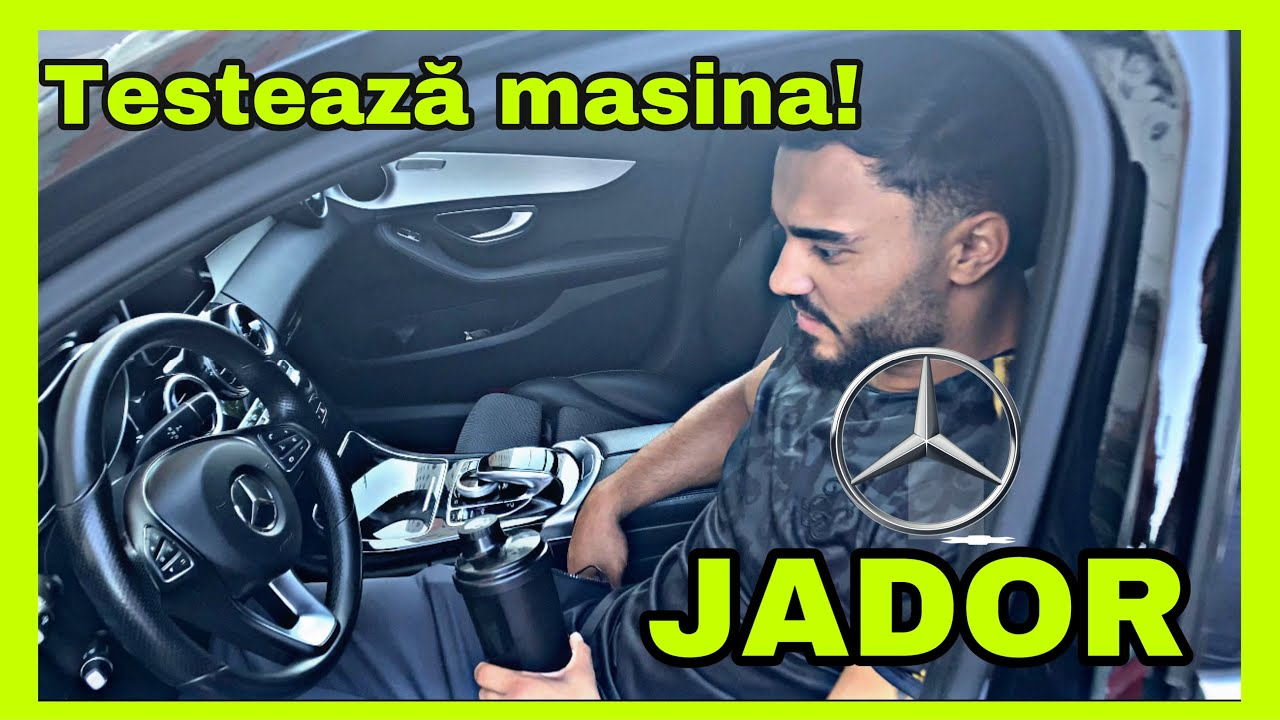 CE MAȘINA MI-AM LUAT? Jador invidios? Test drive prin parcare.