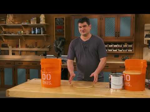 Making Kid's Furniture From 5 -Gallon Buckets!
