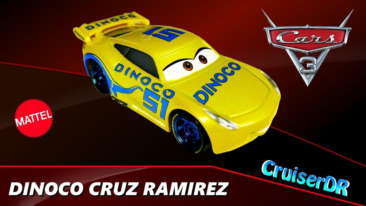 Disney Cars 3 Brand New Diecast Dinoco Cruz Ramirez 1 55