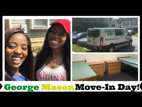 College Move In Day Vlog 2017| George Mason University
