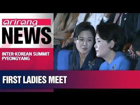First ladies of two Koreas visit children's hospital, music college in N. Korea