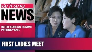 First ladies of two Koreas visit children's hospital, music college in N. Korea