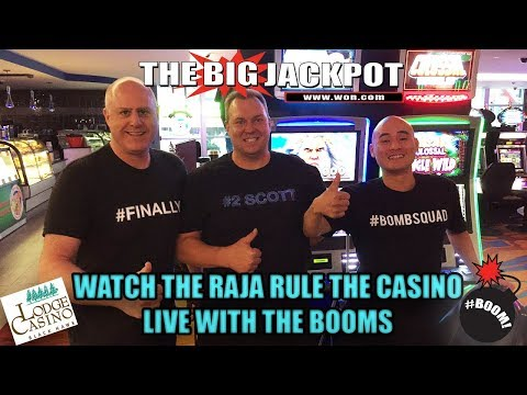🔴Watch the Raja rule the Casino live with the Booms💣