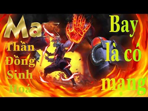 LIÊN QUÂN| Trải nghiệm Skin mới của Max Thần Đồng Sinh Hoá| Top Game