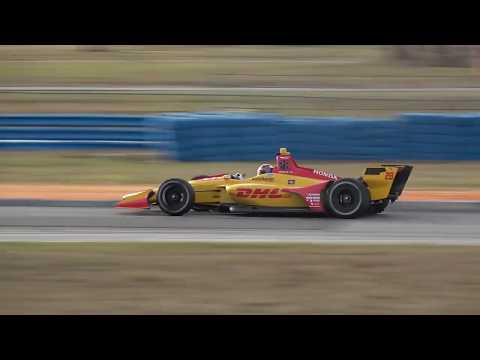 Ryan Hunter-Reay 2018 Sebring Test | IndyCar 2018 January Testing