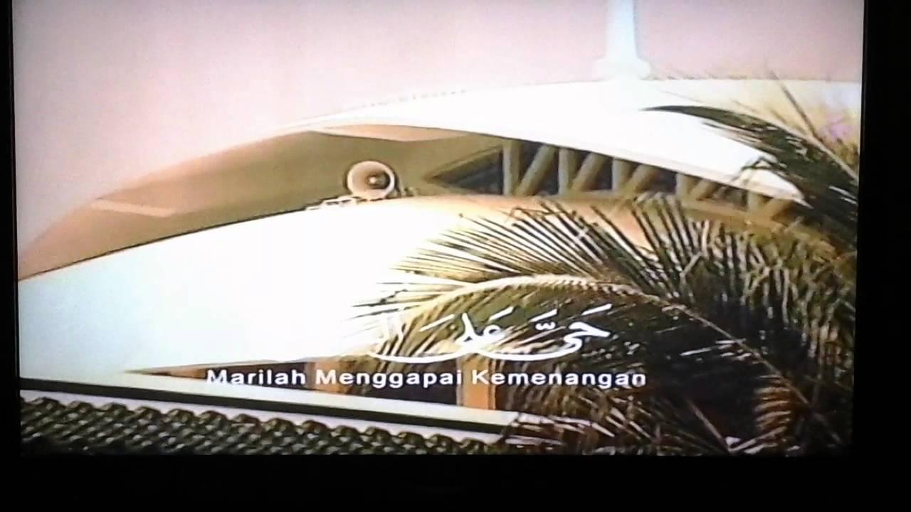 Adzan Maghrib Sctv Khusus Bandung Youtube