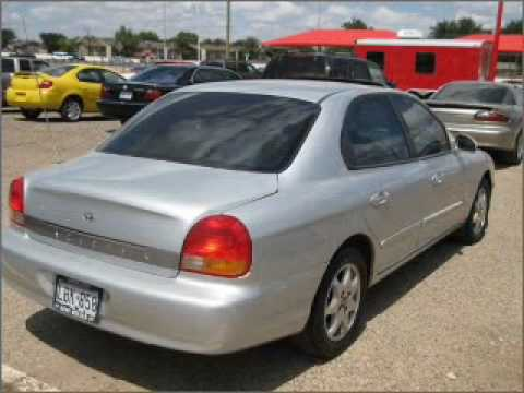2000 Hyundai Sonata Lubbock Texas Youtube