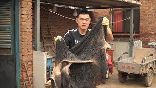 【食味阿远】470块钱买了23斤牛肚,光清洗花了一天,卤水卤一锅,闻着真香 | tripe | Shi Wei A Yuan