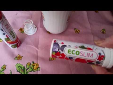 Эко Слим лесные ягоды. Eco Slim шипучие таблетки отзыв