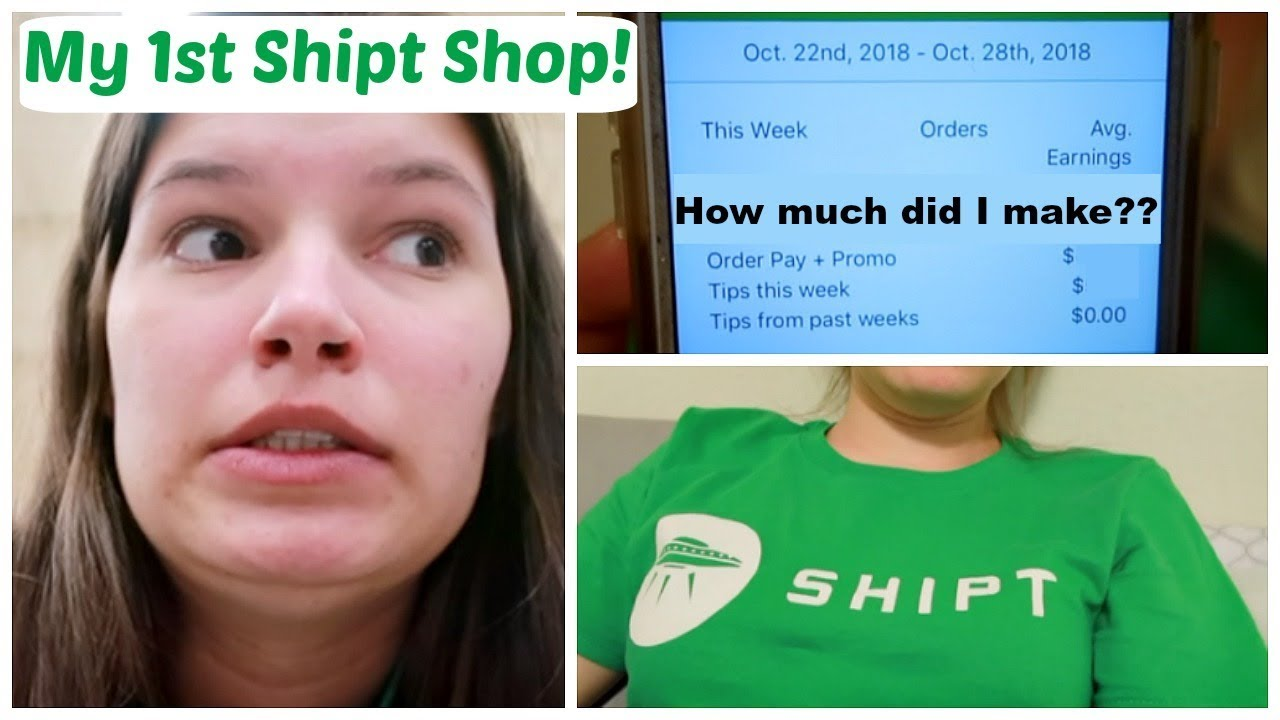 Come Shipt Shopping With Me! | My First Day as a Shipt Shopper! | Mallory  Logan