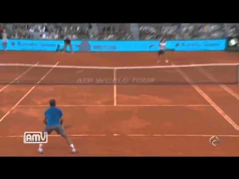 Nadal vs Nishikori Madrid Open 2014