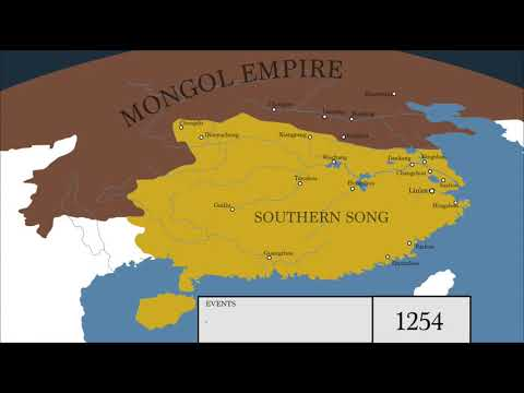 History of the Mongol Conquest of the Song Dynasty: Every Year