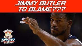 Jimmy Butler To Blame For Timberwolves Disaster?   Hoops N Brews