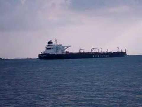 tanker ship video