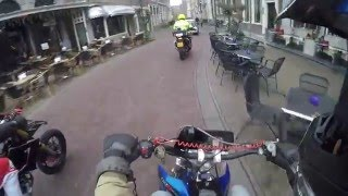 Derbi drd racing 80cc caught by police