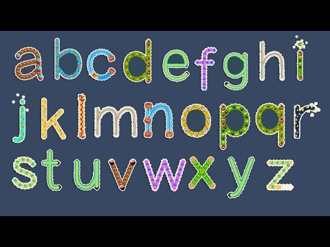 ABC SONG and Learn to write Letter from Loweracase A to Z | How To writing Alphabet