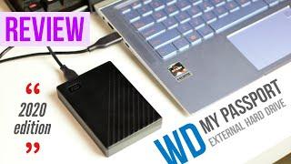 New 2020 WD My Passport External Hard Drive Review Trendated Tech