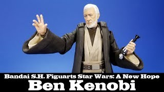 S.H. Figuarts Ben Kenobi Star Wars A New Hope Bandai Review
