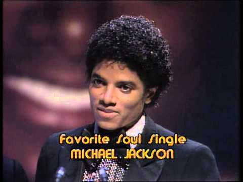 Michael Jackson Wins Favorite Soul Single- American Music Awards 1980