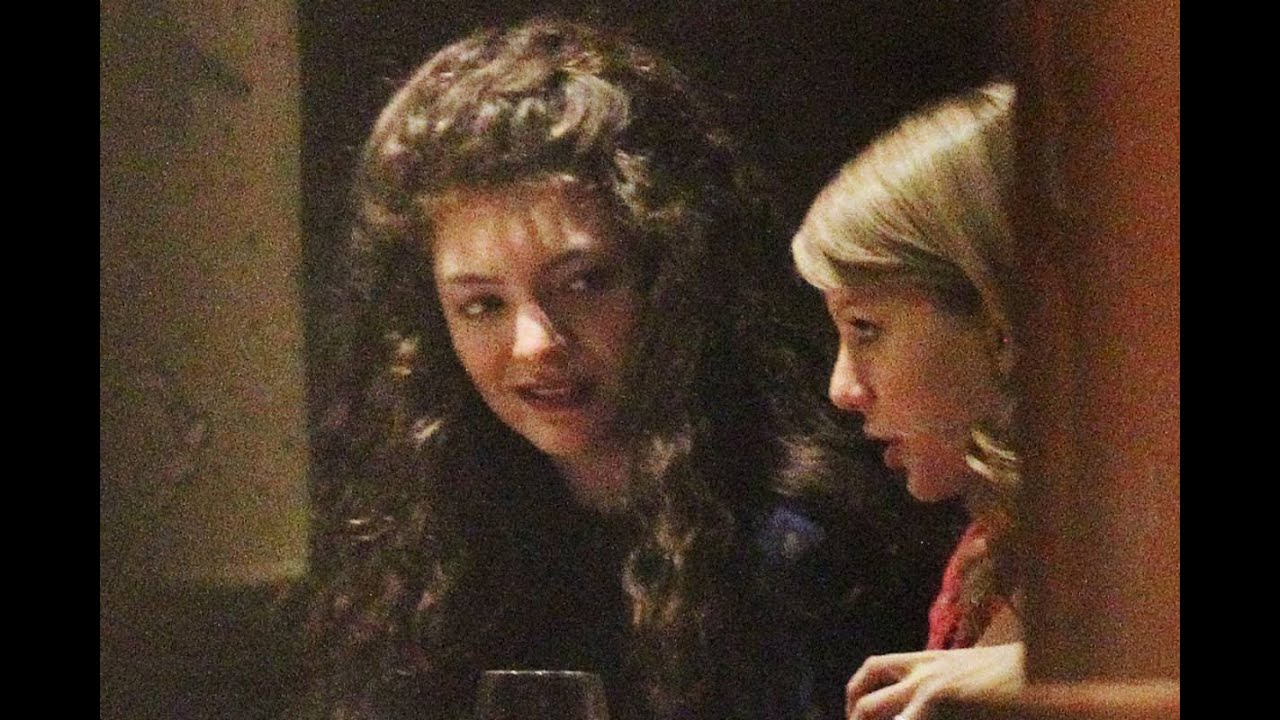 Lorde Taylor Swift Lesbian Question Youtube