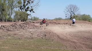 Фото Chinese Pitbike Around A Motocross Track