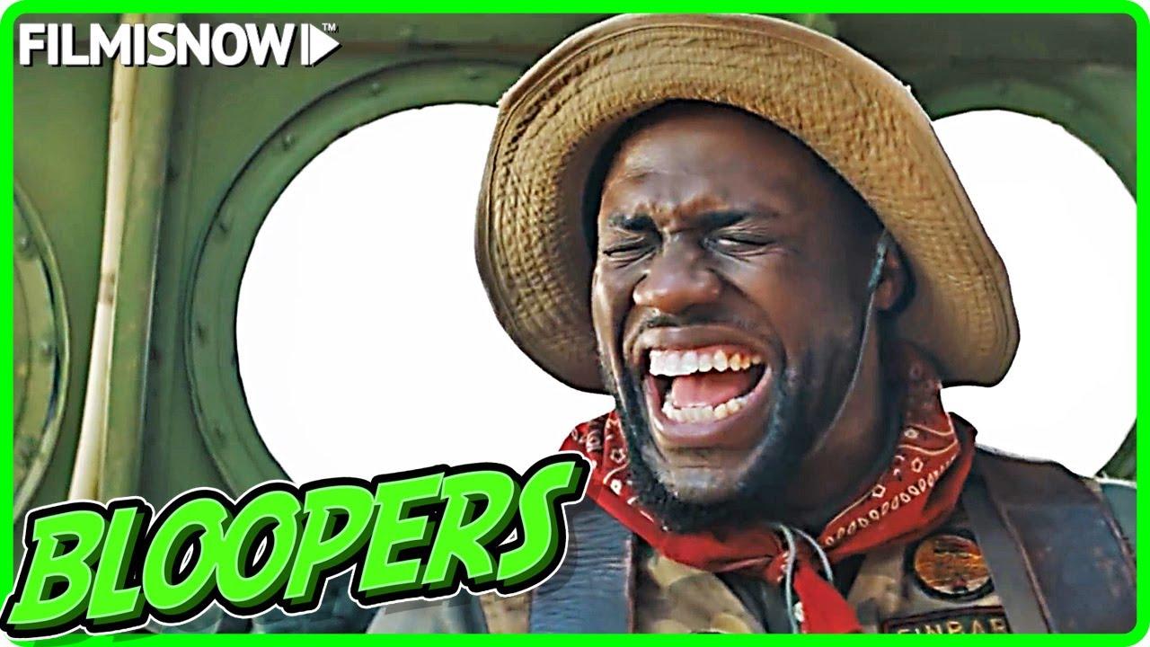 Download JUMANJI: THE NEXT LEVEL Bloopers & Gag Reel [DVD/Blu-Ray 2020]
