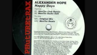 alexander hope -happy days