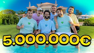 🏠ECCO LA VILLA ELITES DA 5.000.000€!!!💦 *House Tour*