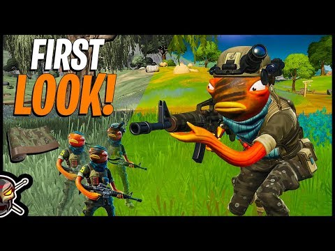 TRIGGERFISH First Look & Gameplay | BUBBLEFLAGE Wrap (Fortnite Battle Royale)
