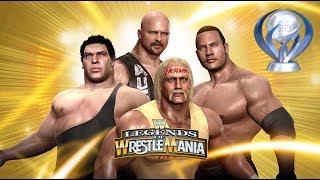 WWE: Legends Of Wrestlemania Platinum trophy (PS3).