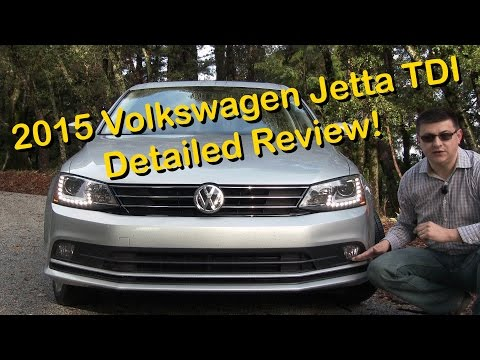 2015 Volkswagen Jetta TDI DETAILED Review and Road Test   in