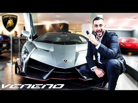 Lamborghini Veneno in London - review Yiannimize