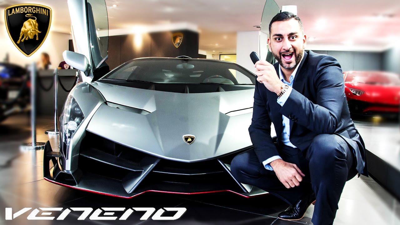 Lamborghini Veneno In London Review Yiannimize Youtube