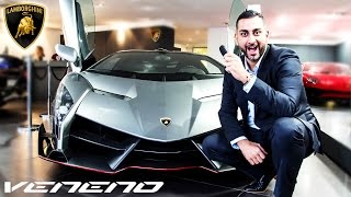 Lamborghini Veneno in London! OMG!