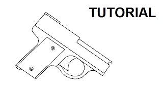 Tutorial - Ultra Compact Rubber Band Gun