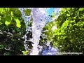 Tropical Waterfall White Noise | Sleep, Study, Focus with Relaxing Water Sounds | 10 Hours