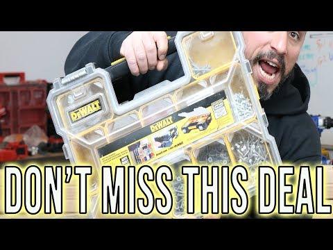 HUGE TOOL DEAL - DeWALT Deep Pro Organizer!