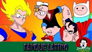 GOKU vs TODO EL MUNDO FCL 7.2 - SUPERMAN, FINN & JAKE, MARIO & POPEYE (Fandub Latino)