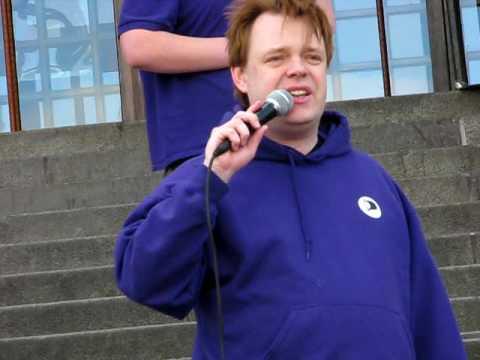 """Rick Falkvinge, ledare för Piratpartiet: """"Ut ur riksdagen, internetanalfabeter!"""""""