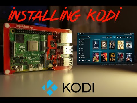 Raspberry Pi - Installing Kodi (2019) Media Center