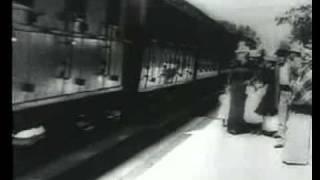 1895年  電影 火車進站 法國盧米埃兄弟