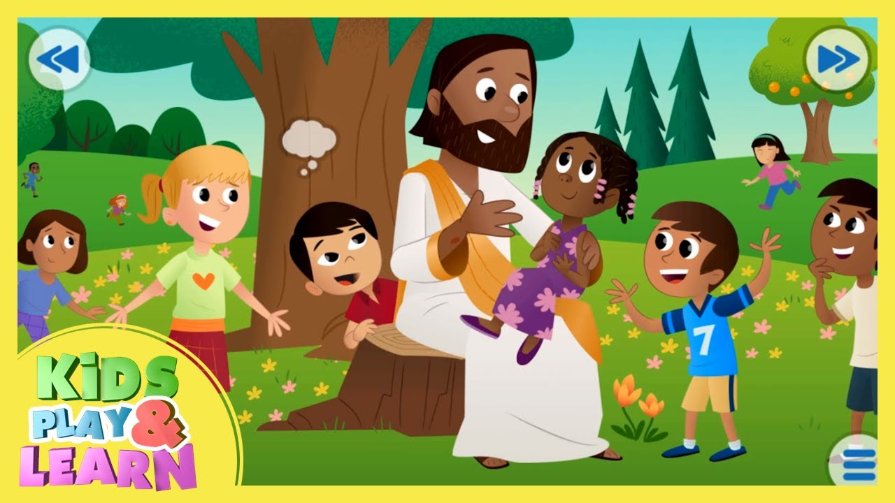 All About Jesus - Bible For Kids - YouTube