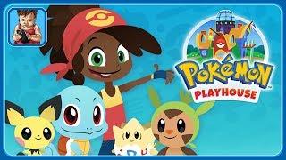 Покемоны - Дом игр * Забота, еда и песни для покемонов * Pokemon Playhouse * Мультик игра для детей