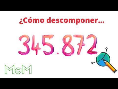 Descomponer un numero en forma de multiplicaciones. Mica