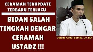 Download Video Buk bidan salah tingkah dengar ceramah ustadz - Ustadz Abdul Somad, Lc. MA MP3 3GP MP4