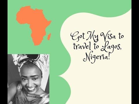 GOT MY VISA TO TRAVEL TO #LAGOS, #NIGERIA!